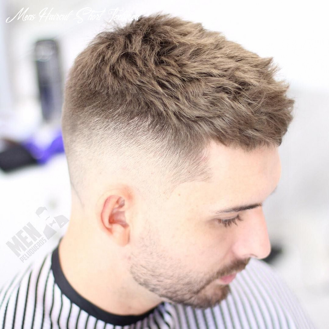 Messy textured haircut and hairstyles for men | mens hairstyles