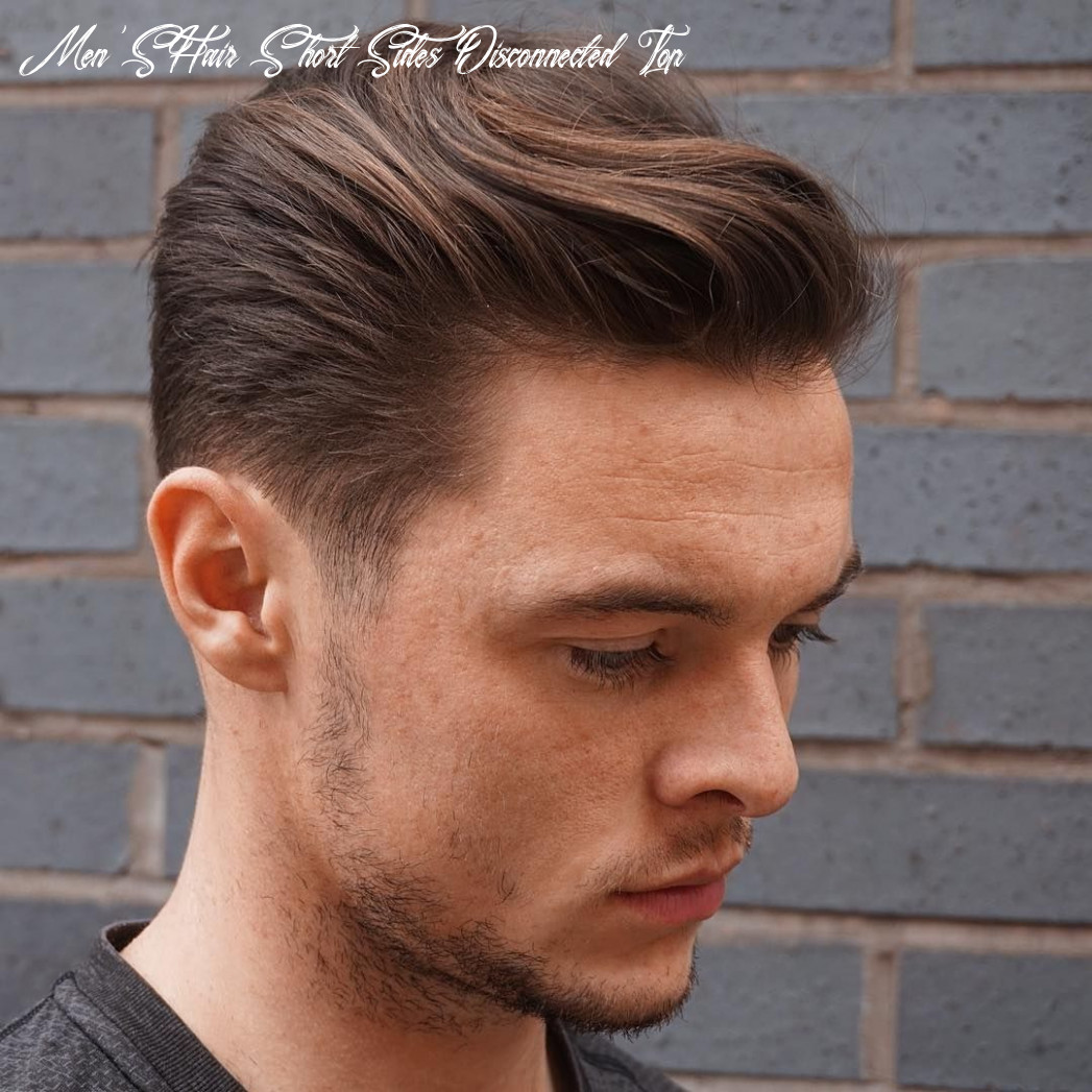 New mens hairstyles short sides disconnected top   mens hairstyles