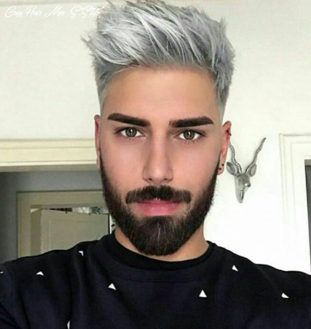 Ombre hair color trends is the silver #grannyhair style | grey