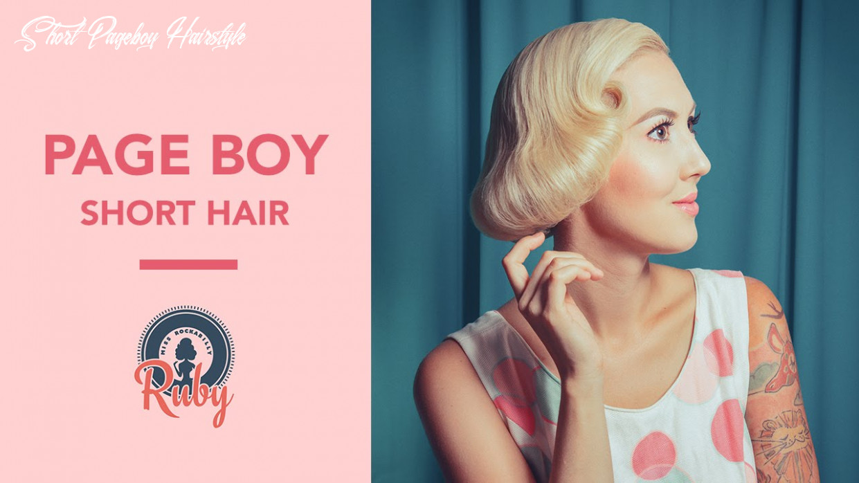 Page boy (for short hair) pinup hair tutorial short pageboy hairstyle