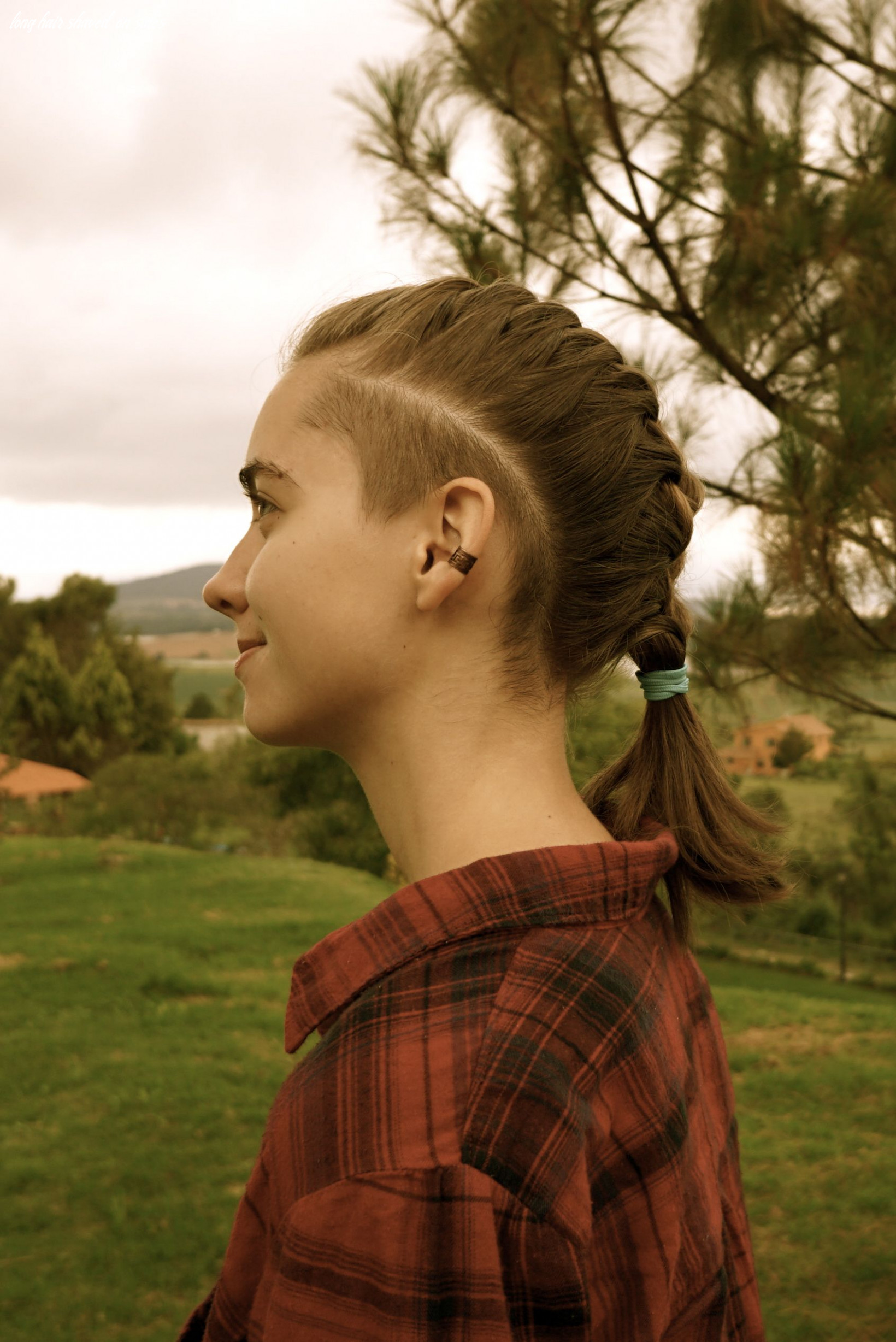 Pin en photos that inspire long hair shaved on sides