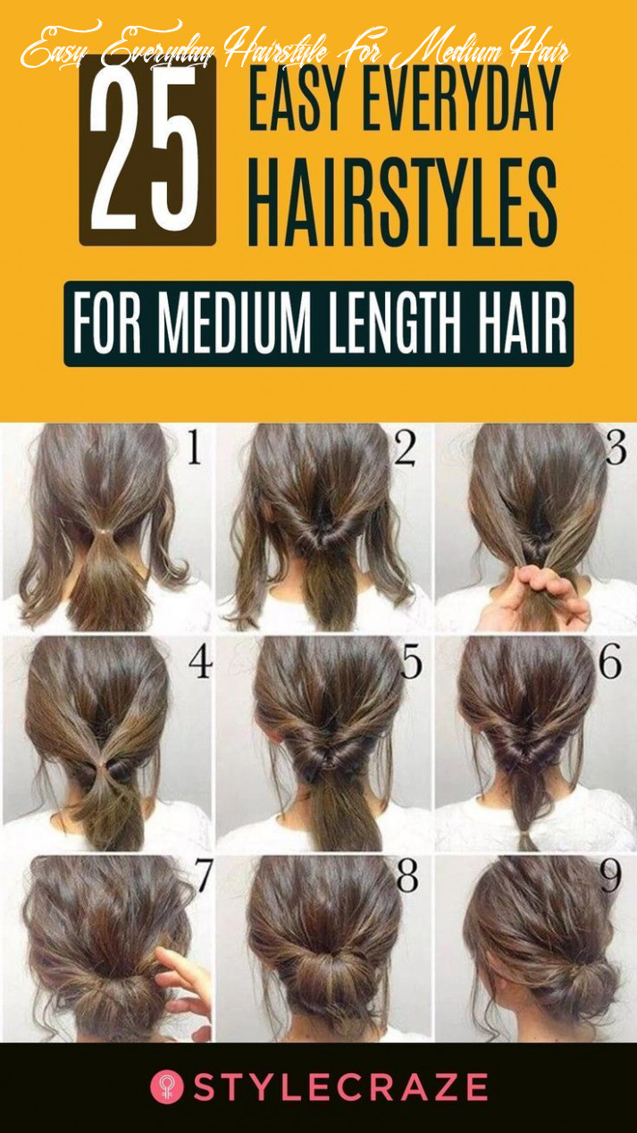 Pin on blog easy everyday hairstyle for medium hair