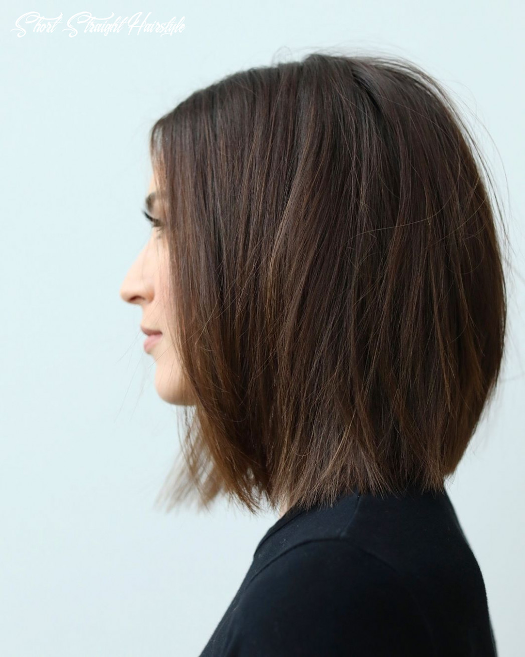 Pin on bobs short straight hairstyle