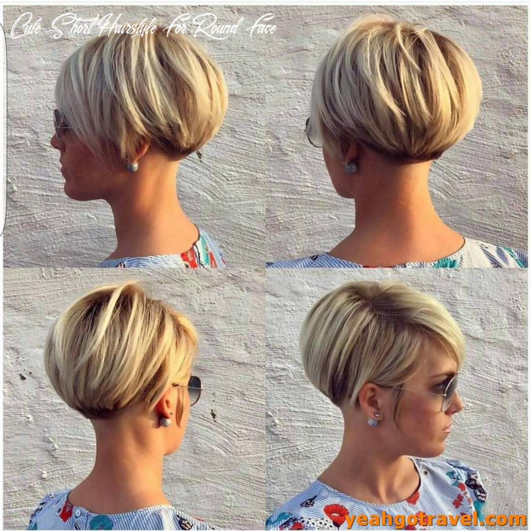 Pin on dreses cute short hairstyle for round face