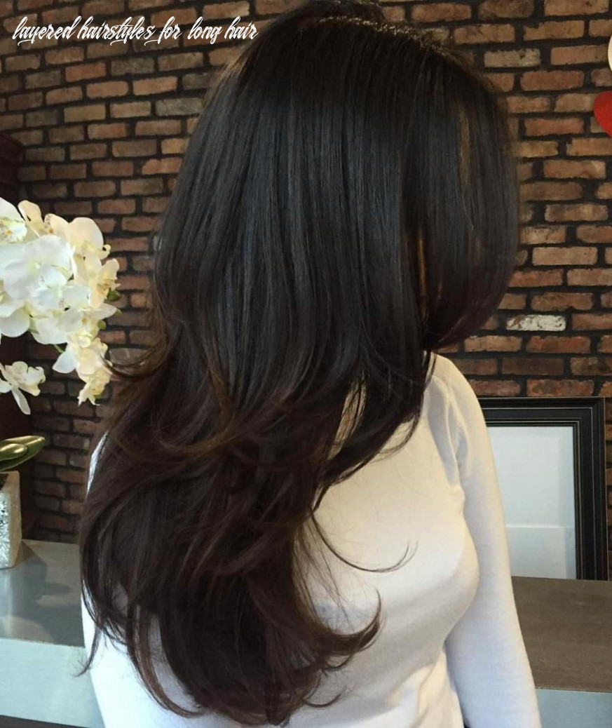 Pin on hair color/cut layered hairstyles for long hair