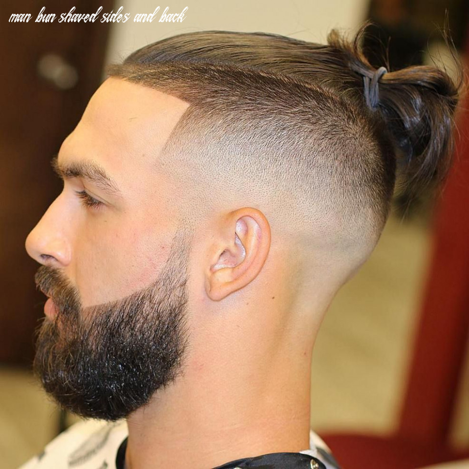 Pin on haircut styles man bun shaved sides and back