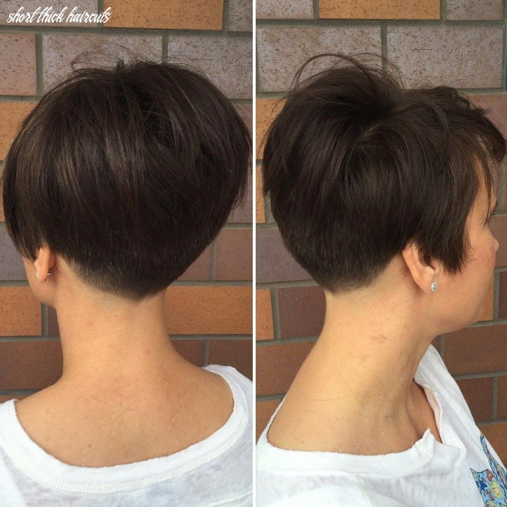 Pin on hairstyles short thick haircuts