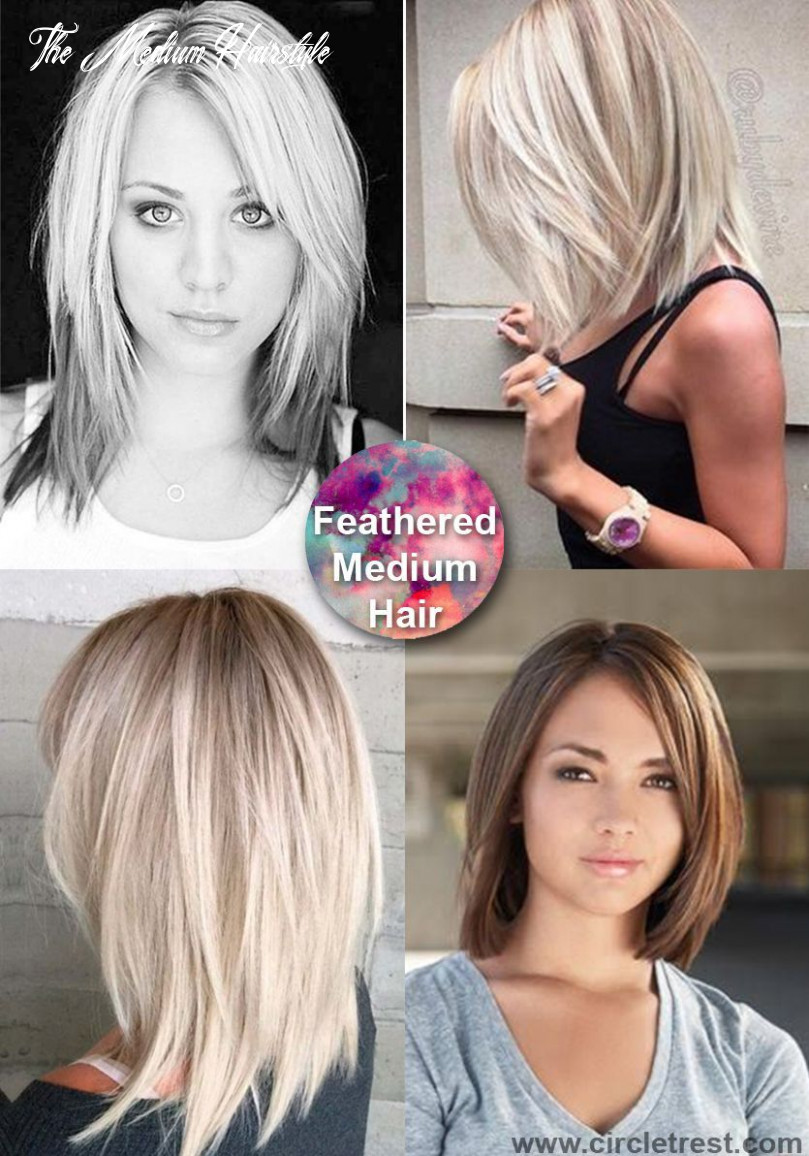 Pin on life the medium hairstyle