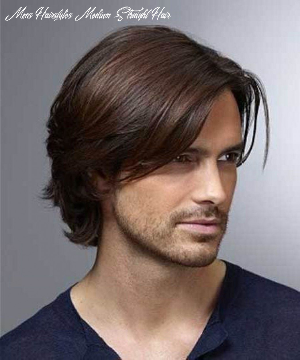 Pin on male body reference mens hairstyles medium straight hair