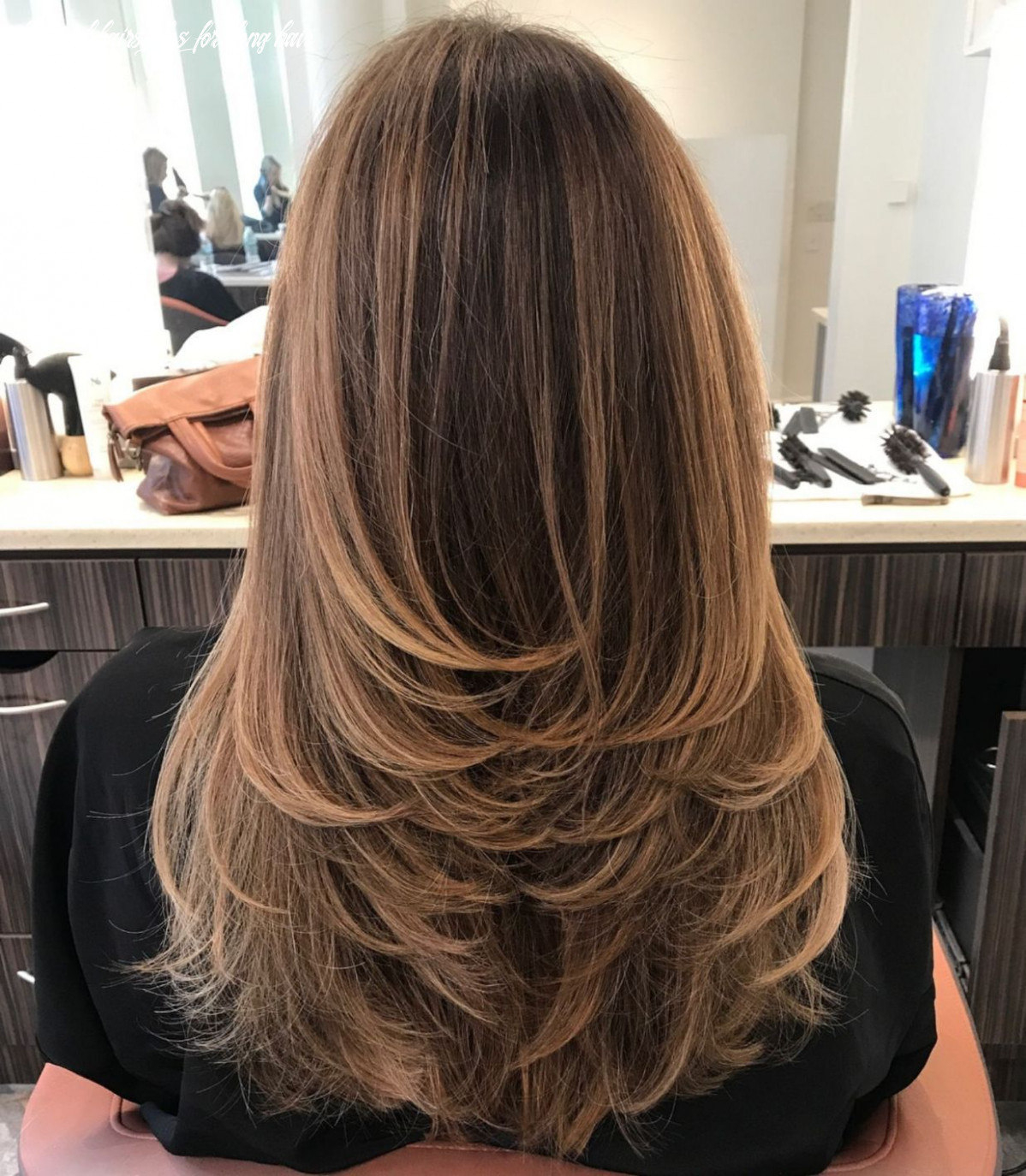 Pin on thinking about my hair again layered hairstyles for long hair