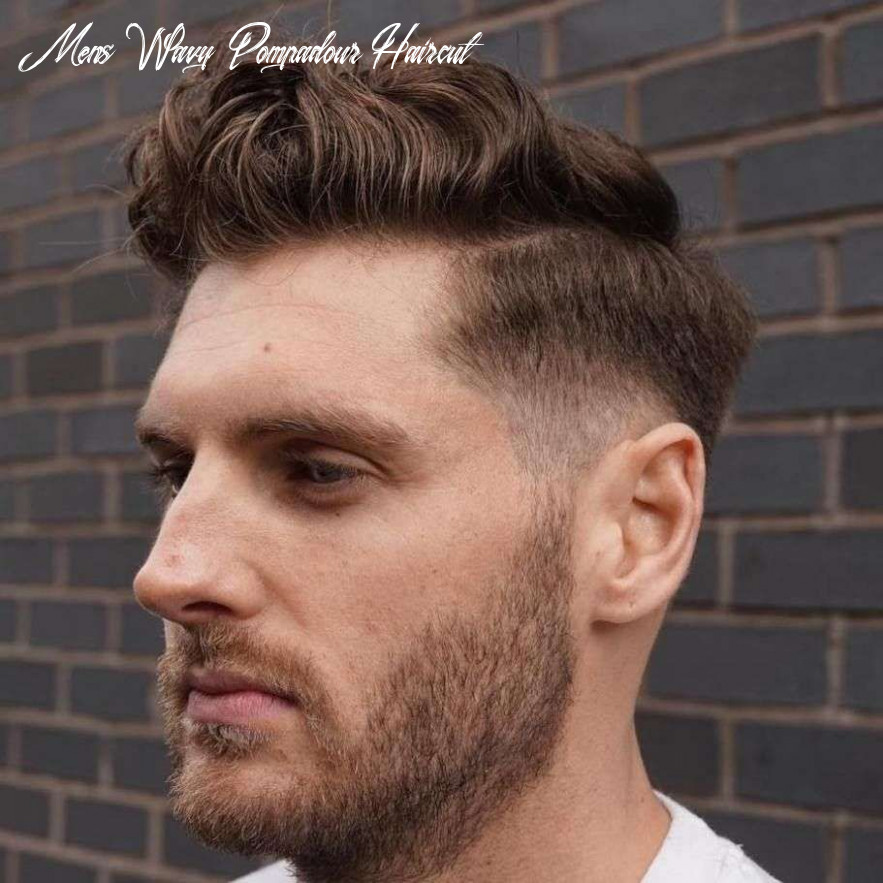 Pompadour for curly hair | pompadour hairstyle, long hair styles
