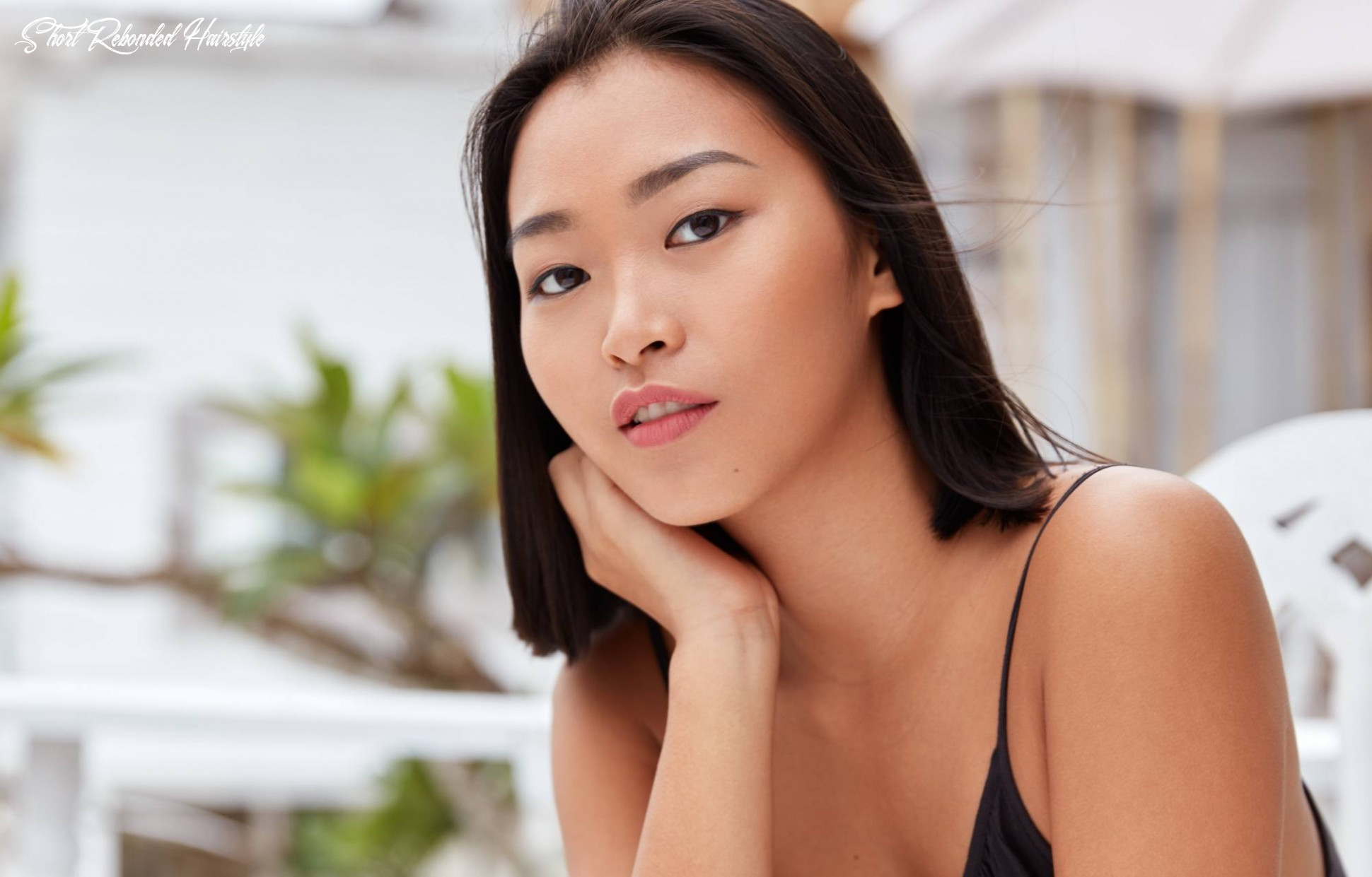 Rebonded short hair: what you need to know before getting one short rebonded hairstyle