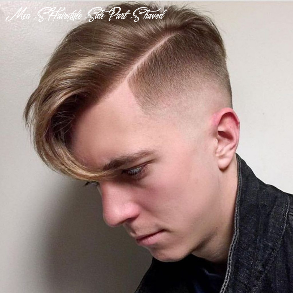 Shaved side part   haircuts for men, cool hairstyles, guy haircuts