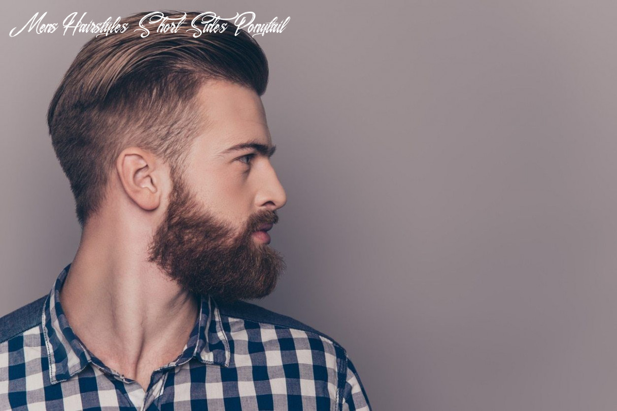 Shaved sides hairstyles mens that will step up your style game mens hairstyles short sides ponytail