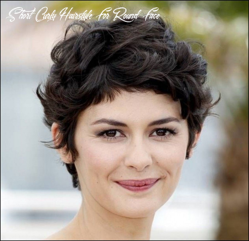 Short haircuts for thick curly hair and round faces   thick hair