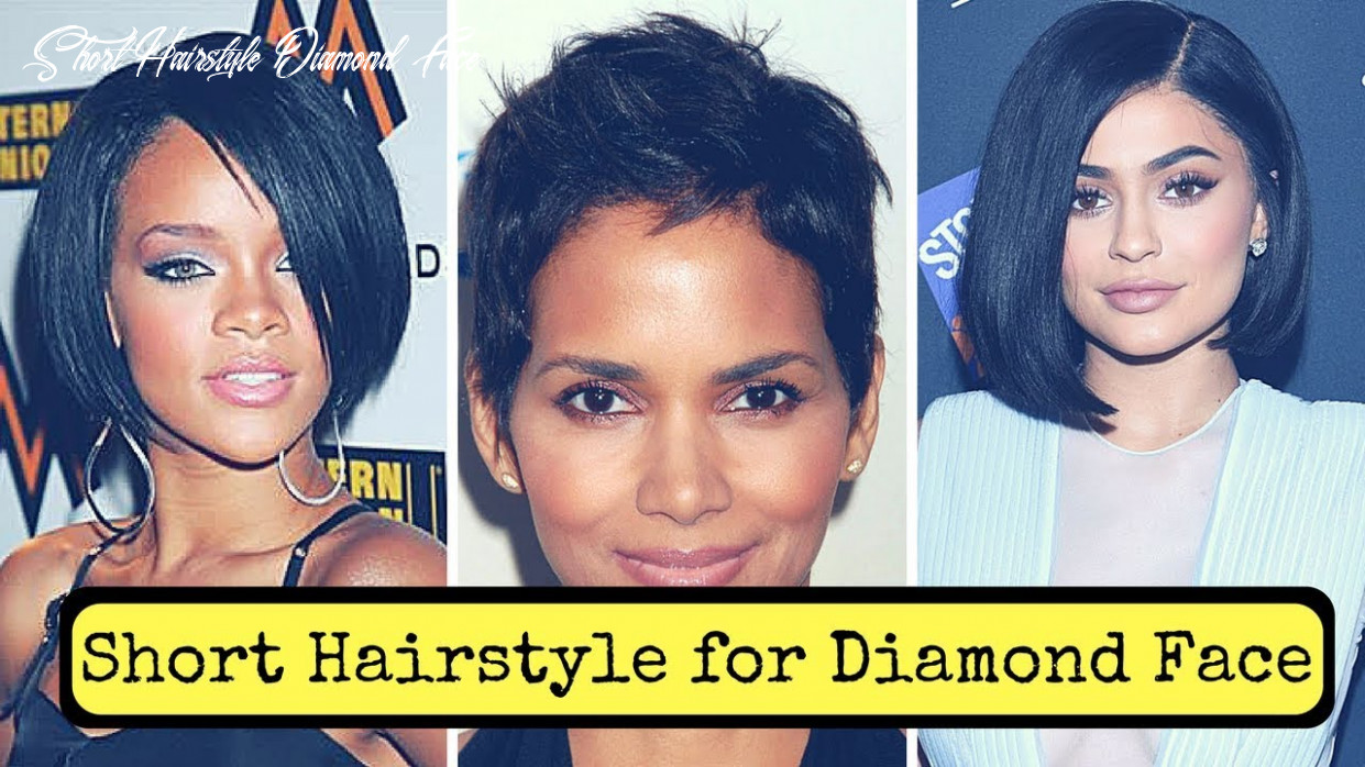 Short hairstyles for diamond face shape (11) youtube short hairstyle diamond face