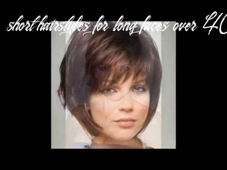 Short hairstyles for long faces over 10 youtube short hairstyles for long faces over 40