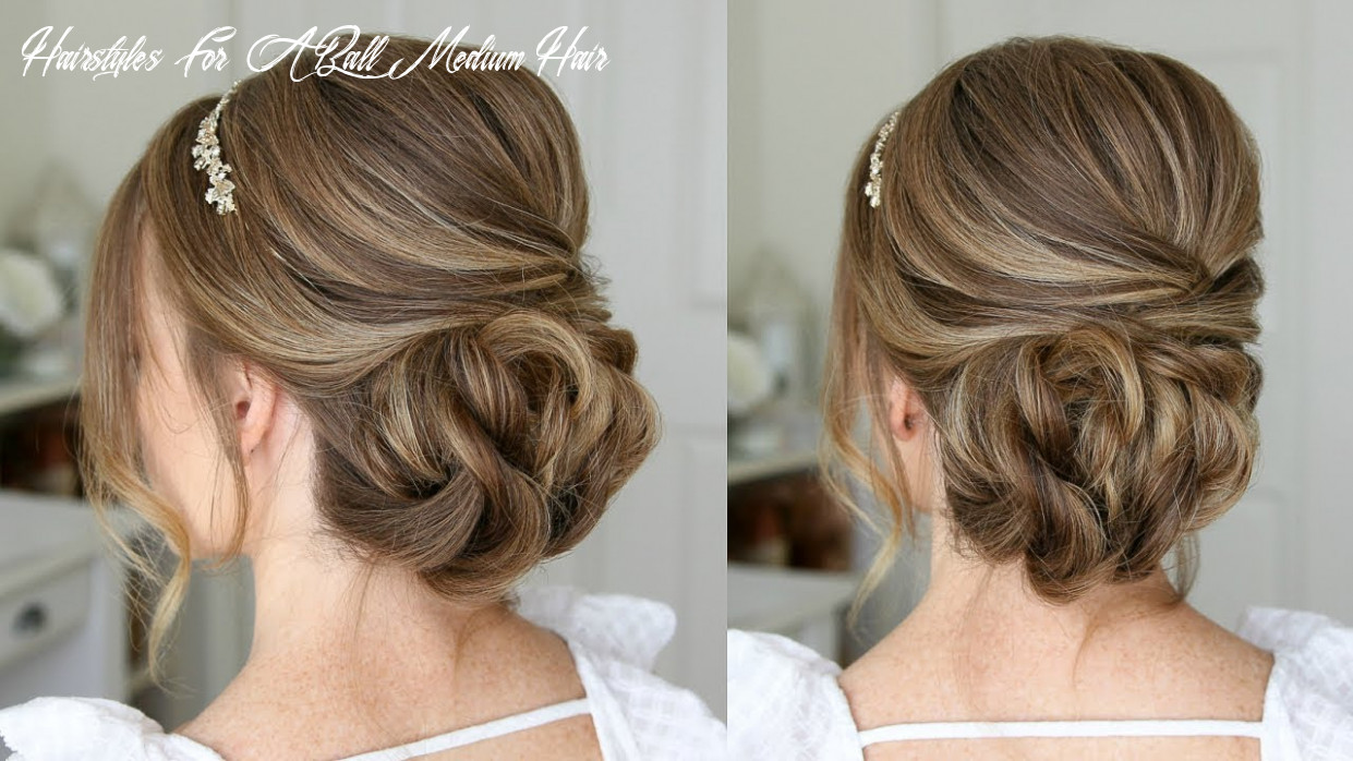 Simple formal updo   missy sue hairstyles for a ball medium hair
