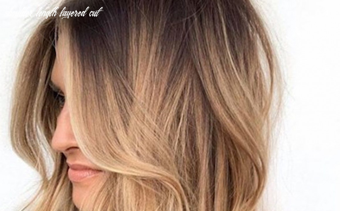 Stylish mid length layered haircuts for women | fashionisers© shoulder length layered cut