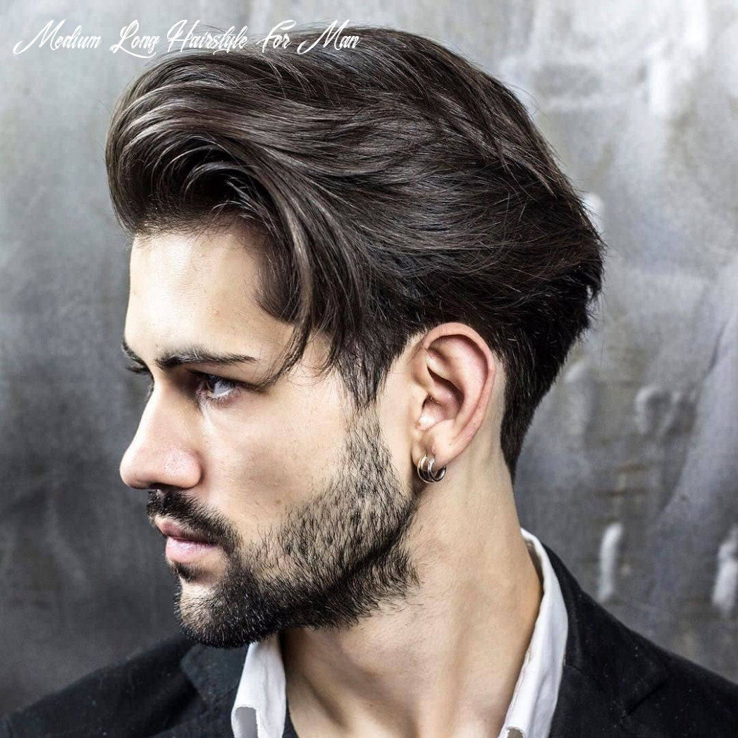 The 10 best medium length hairstyles for men | improb medium long hairstyle for man