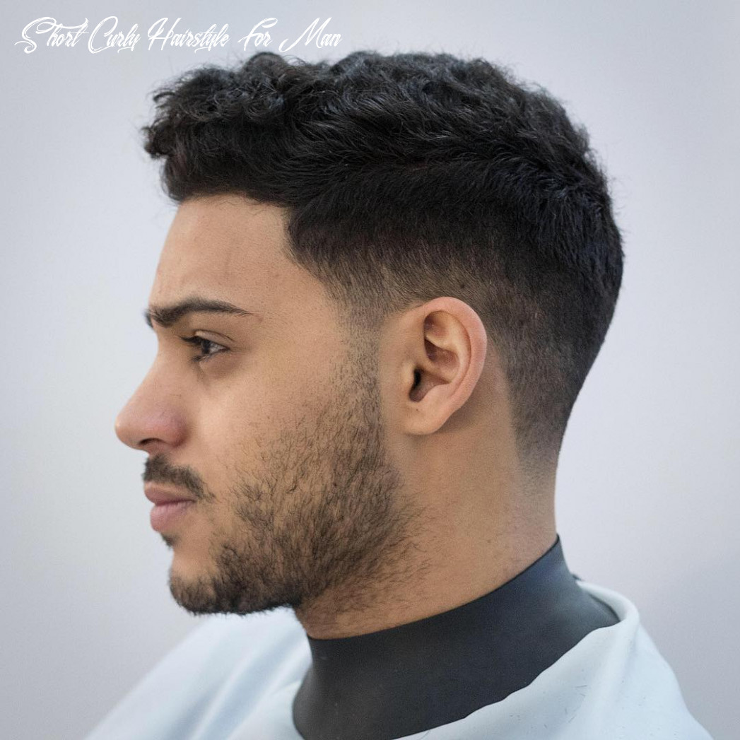 The 11 best curly hairstyles for men | improb short curly hairstyle for man