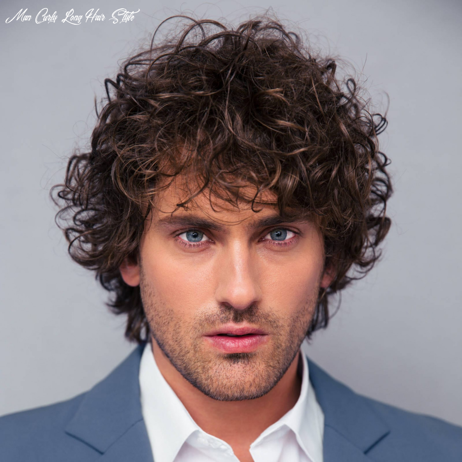 The 12 best curly hairstyles for men | improb man curly long hair style