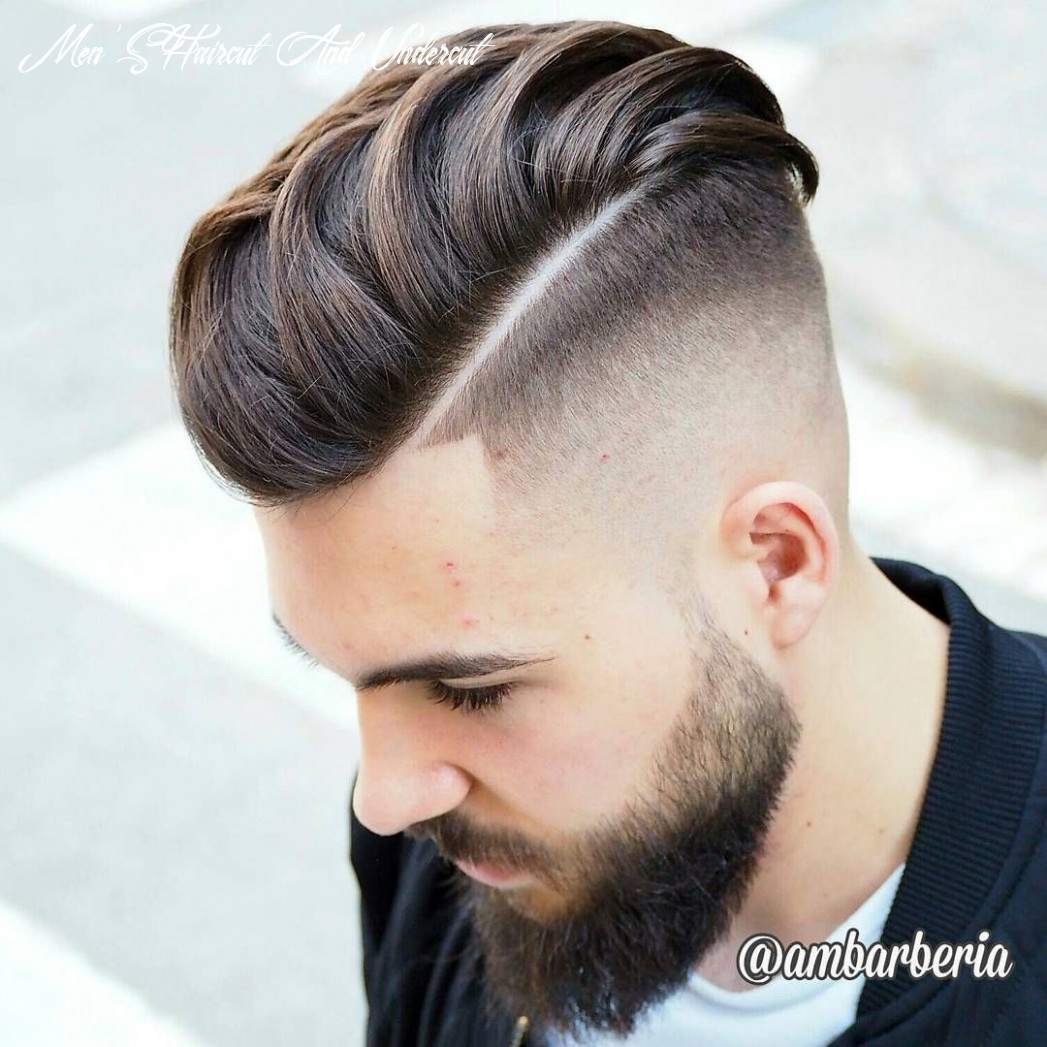 Top 8 undercut haircuts hairstyles for men (8 update