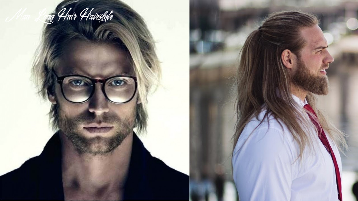 Top 9 stylish long hairstyles for men 9 men with long hairstyles | longer hairstyles video! man long hair hairstyle