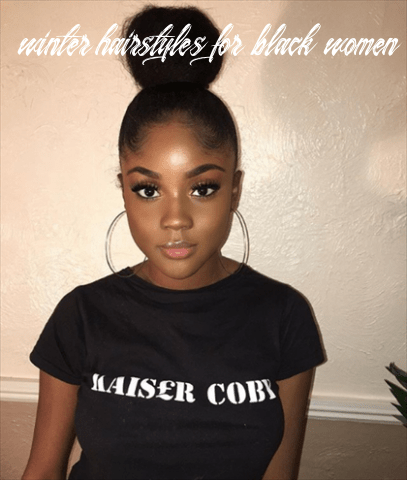 Top9 winter hairstyles for black women winter hairstyles for black women