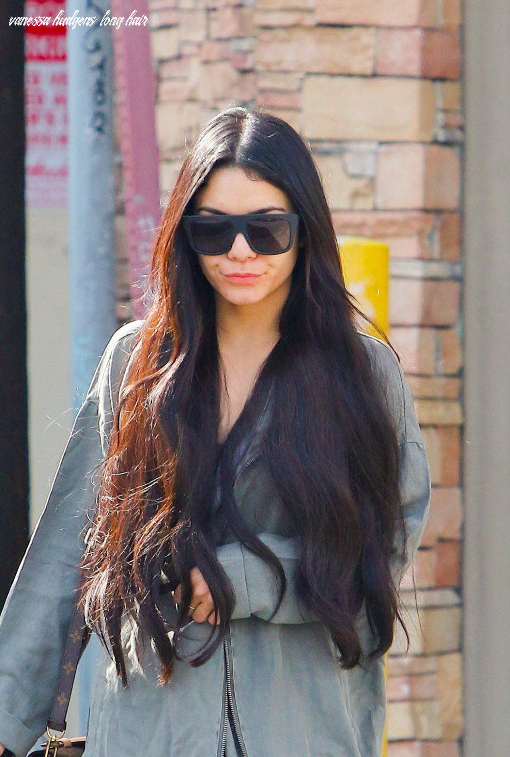 Vanessa hudgens will inspire you to get really, really long hair