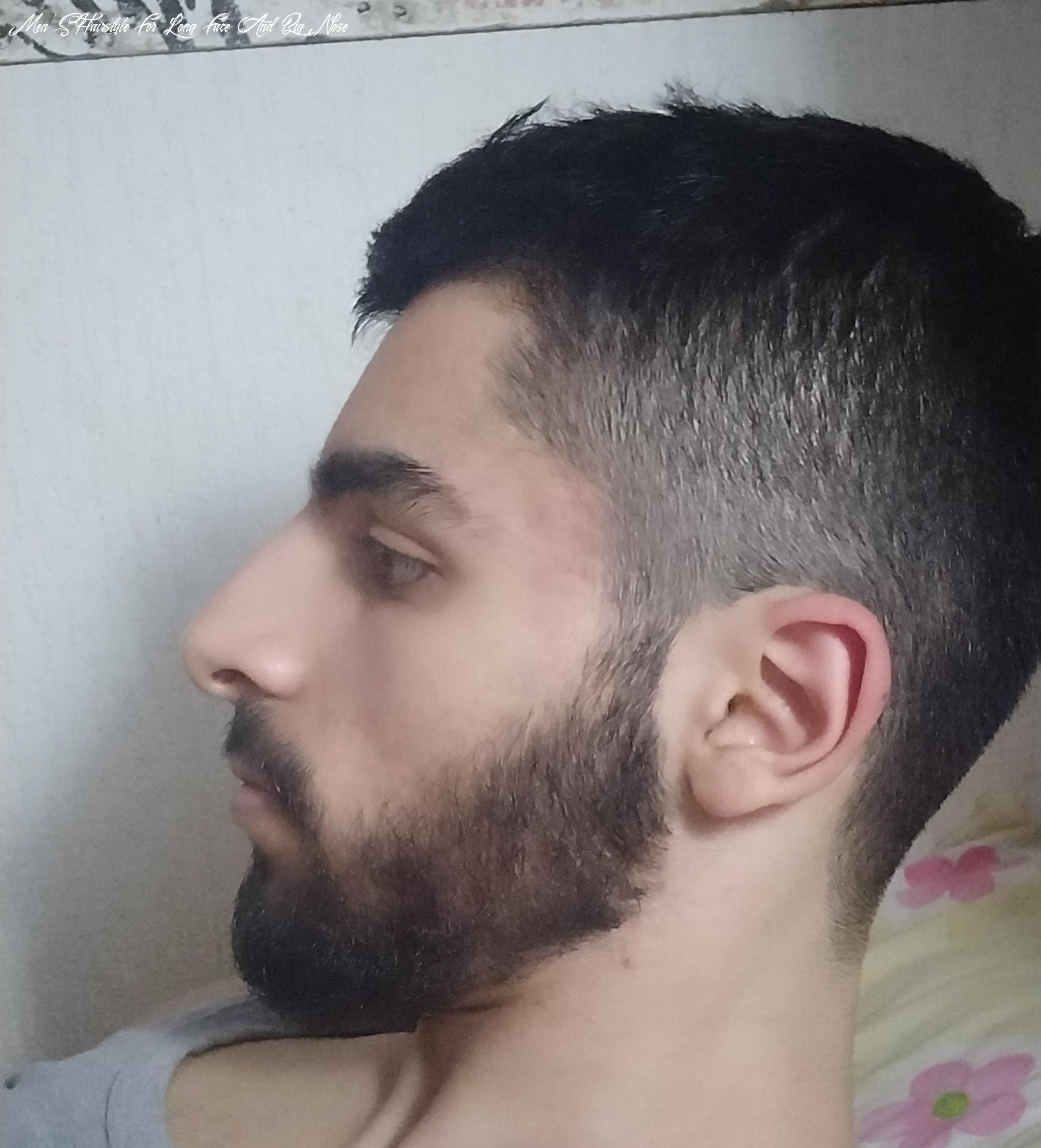 What haircut to best fit my big nose? i just come from the barber
