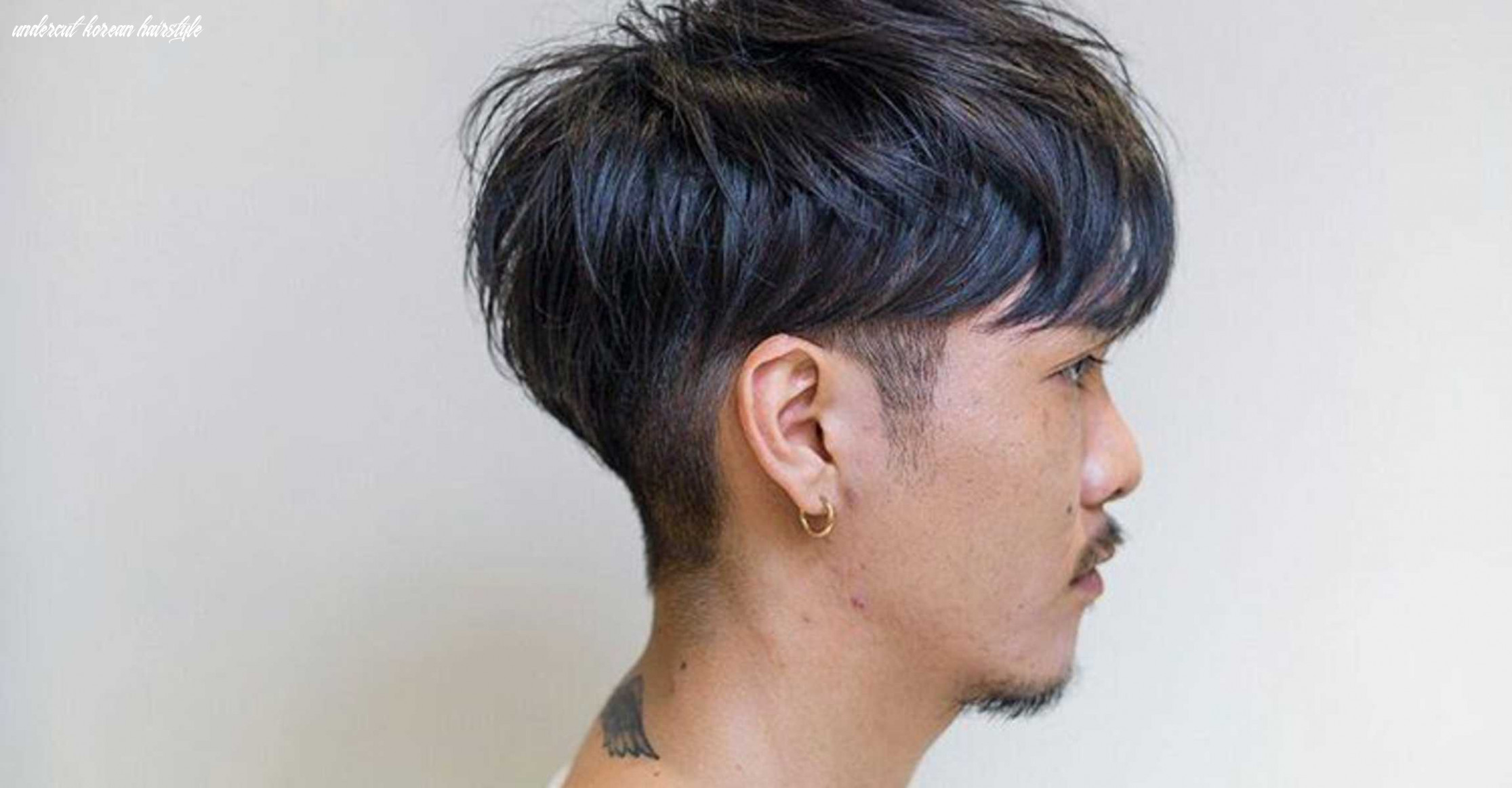 What is the two block haircut and why you should go for it undercut korean hairstyle