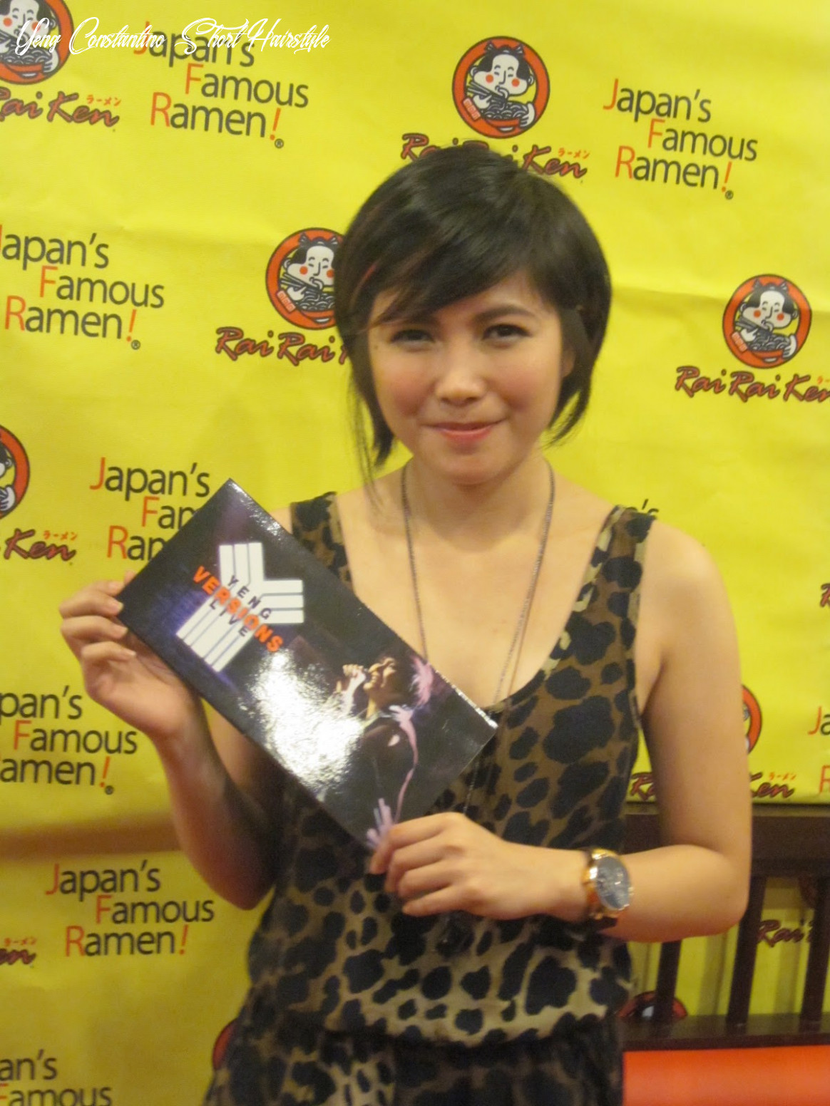 Yeng constantino launches yeng versions live! sugarsmile yeng constantino short hairstyle