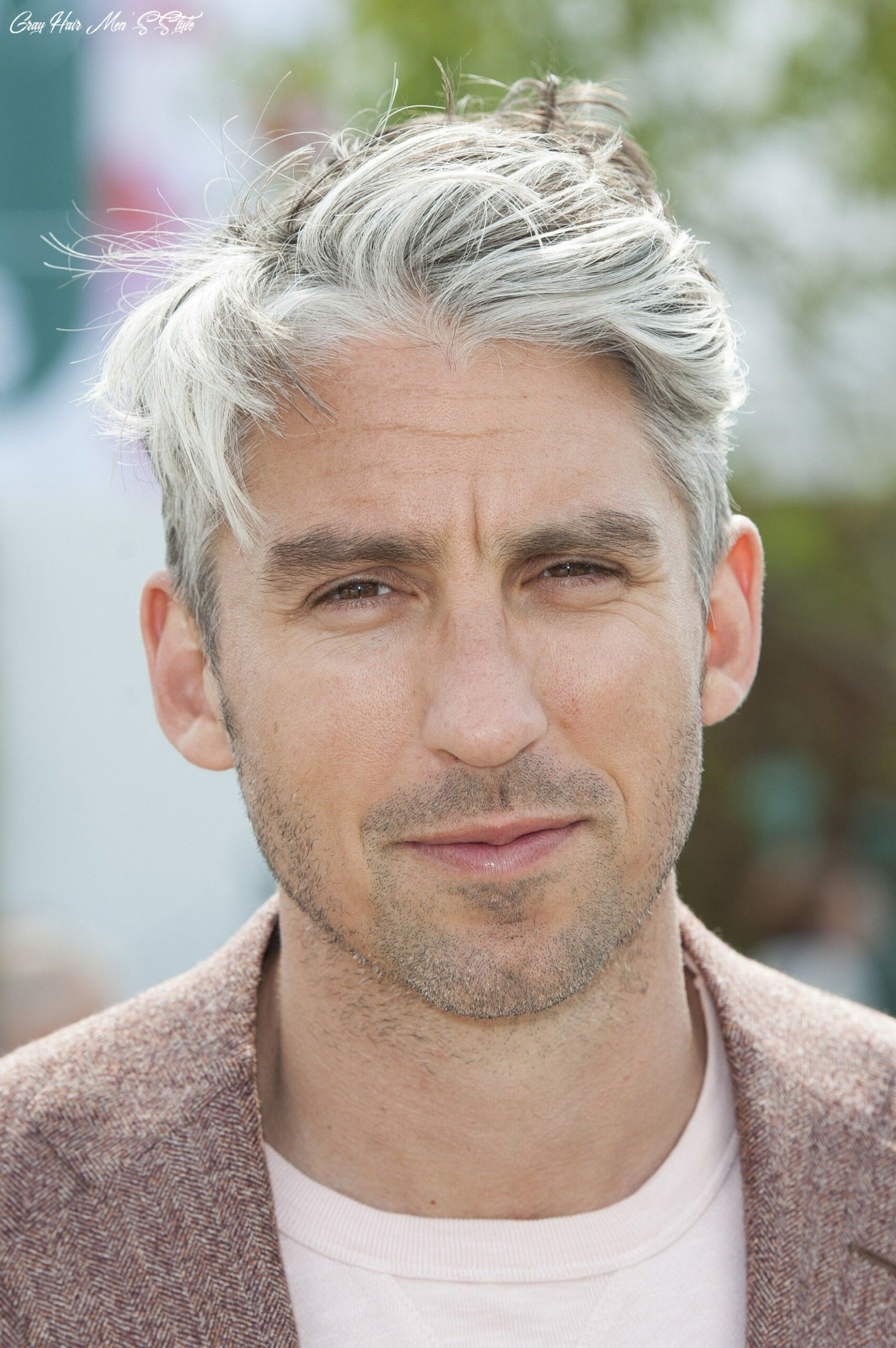 Your perfect mens hairstyles for grey hair round face | grey hair