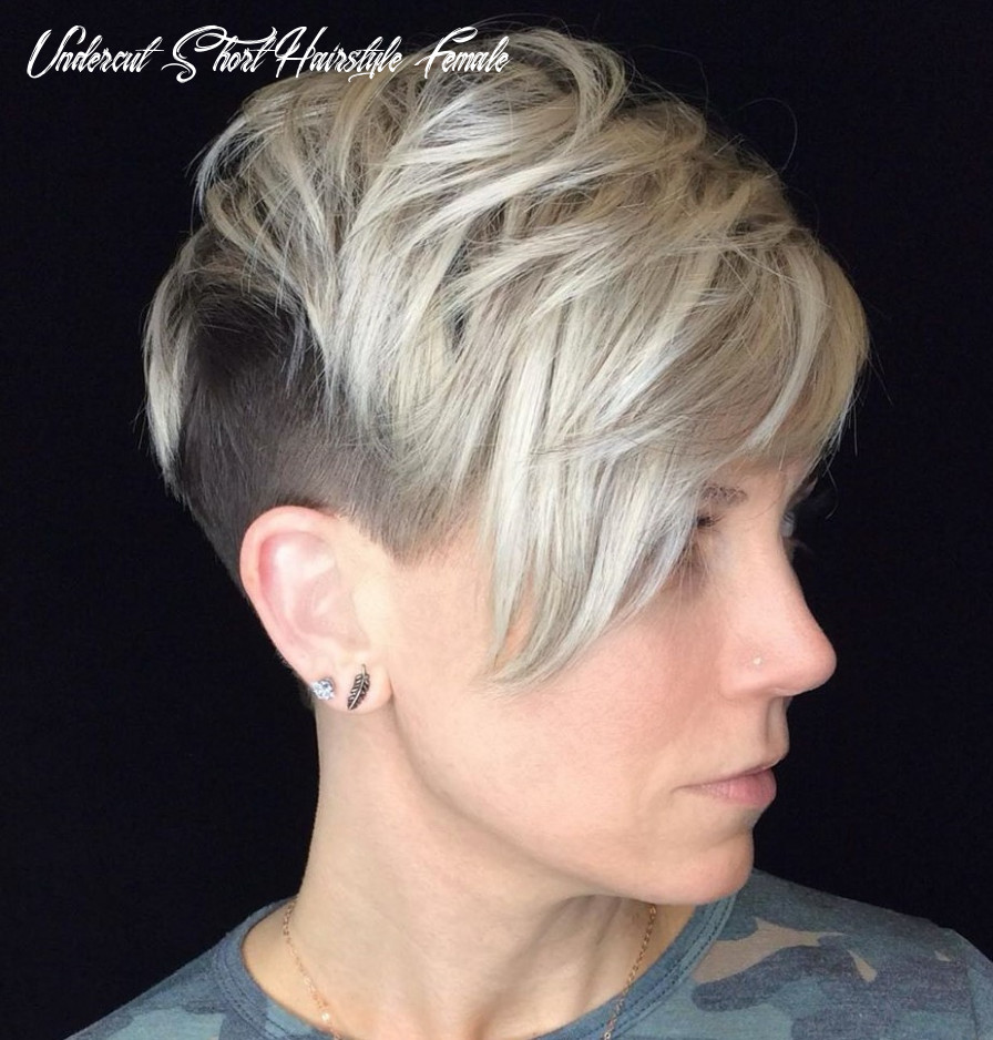 9 hot undercuts for women that are calling your name hair adviser undercut short hairstyle female