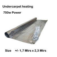 Under carpet heating 750w, Analogue and Digital Thermostats