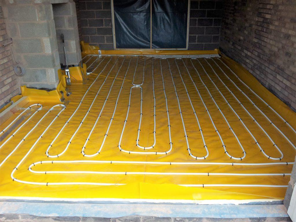 hight resolution of underfloor heating system image