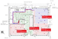 Underfloor Heating Pipe Layout