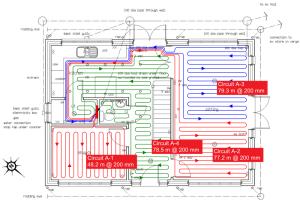 Underfloor Heating Pipe Layout  Underfloor Heating