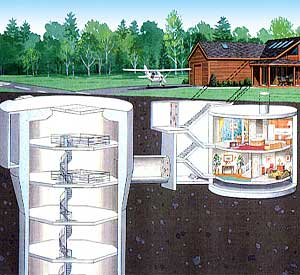 Underground Home Plans Earth Sheltered Berm Housing