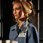 Pretty blonde female prisoner