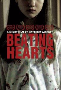 Actress Gianna Bruzzese wearing blood spattered pajamas