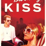 Colorful poster of The Burning Kiss featuring Liam Graham and Alyson Walker