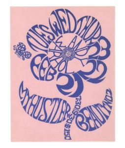 Poster for Andy Warhol films My Hustler and Beauty #2
