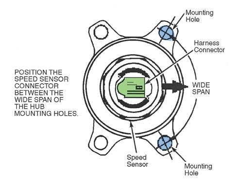 Tech Tip: Replacing 2WD Front Wheel Speed Sensor on Isuzu