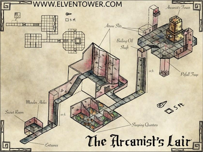 The Arcanist's Lair