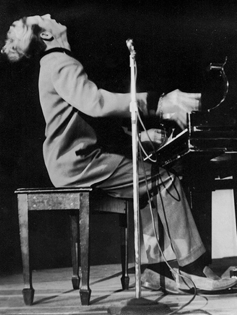 Jerry Lee Lewis artiste blues