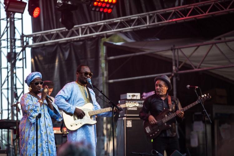 Amadou et Maryam au Climax Festival