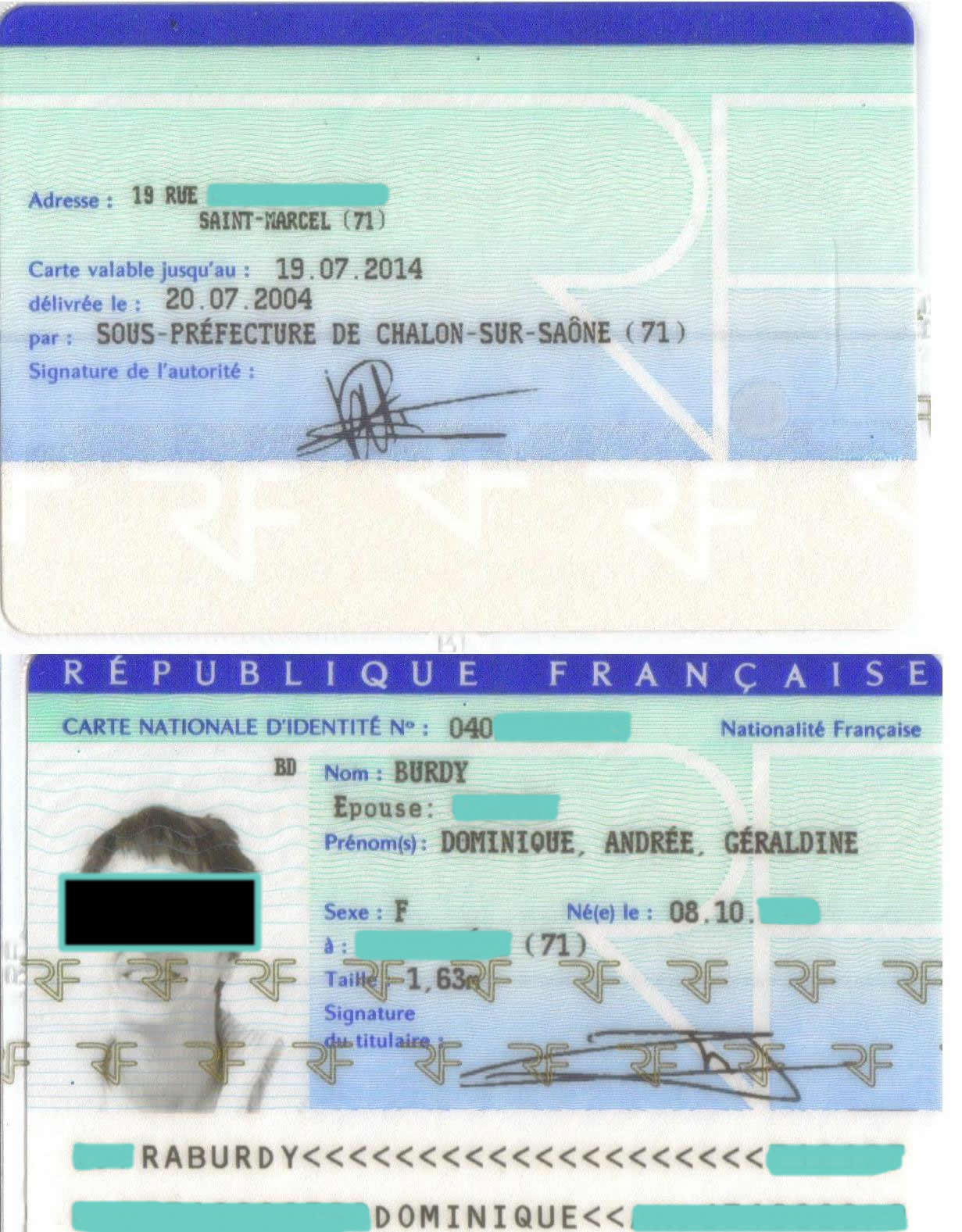 ma carte d identite undernews
