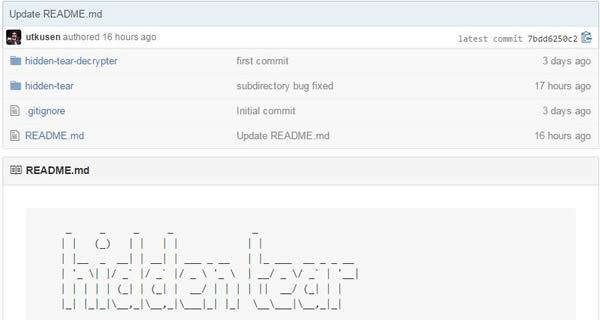 Hidden Tear : Un ransomware open source sur Github